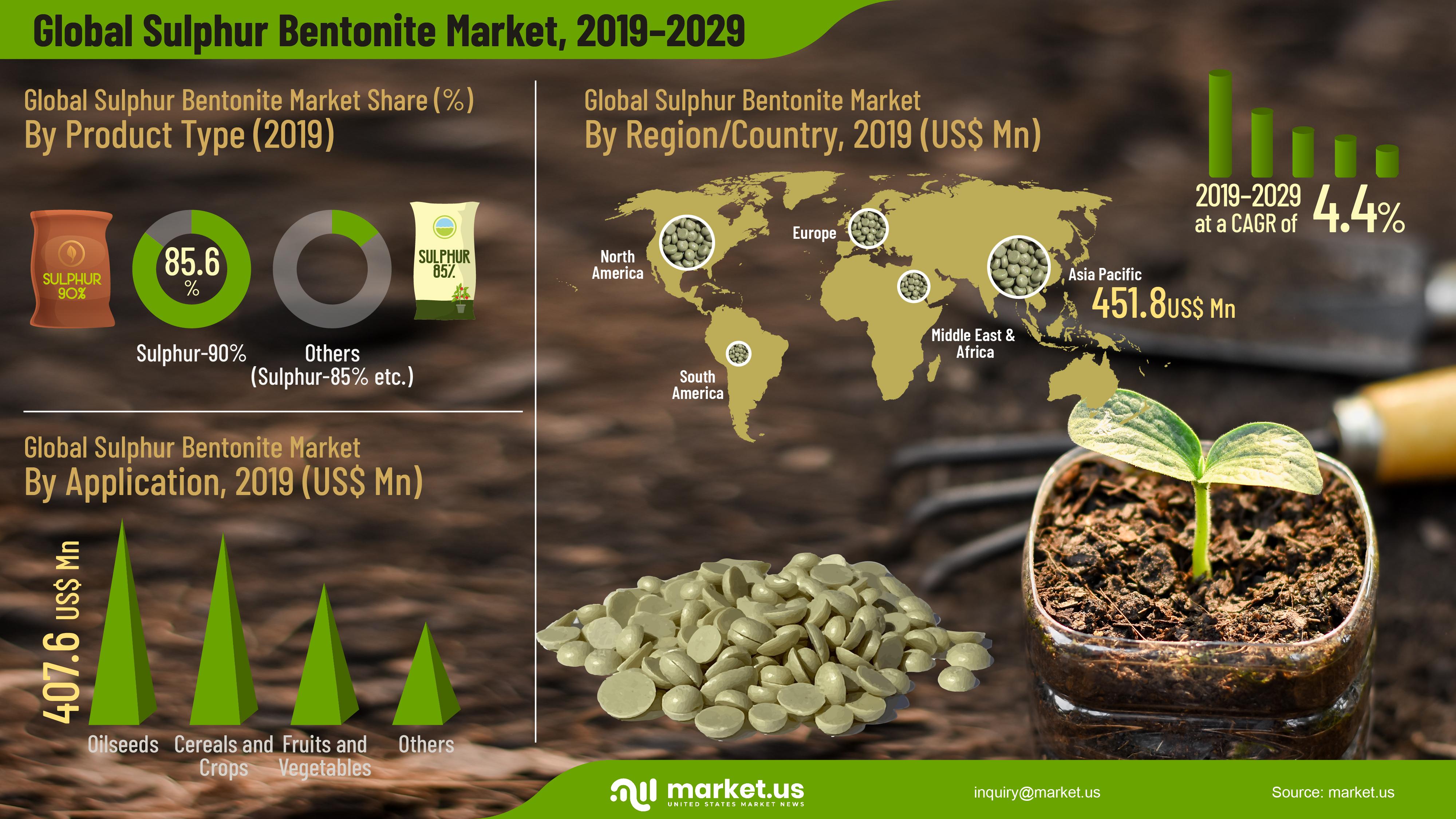 Global Sulphur Bentonite Market Infographics